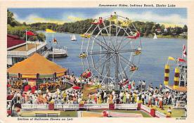 Amusement Rides, Indiana Beach, Shafer Lake
