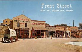 amp016005 - Dodge City, Kansas, KS, USA Postcard