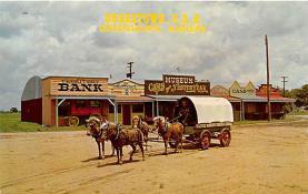 amp016007 - Greensburg, Kansas, KS, USA Postcard