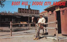 amp016009 - Dodge City, Kansas, KS, USA Postcard
