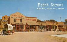 amp016010 - Dodge City, Kansas, KS, USA Postcard