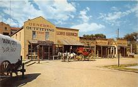 amp016011 - Dodge City, Kansas, KS, USA Postcard