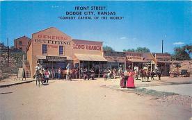 amp016015 - Dodge City, Kansas, KS, USA Postcard