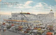 amp019001 - Old Orchard Beach, Maine, ME, USA Postcard
