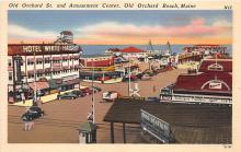 amp019006 - Old Orchard Beach, Maine, ME, USA Postcard