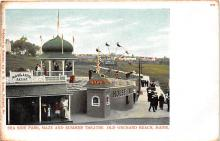 amp019008 - Old Orchard Beach, Maine, ME, USA Postcard