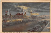 amp019011 - Old Orchard Beach, Maine, ME, USA Postcard