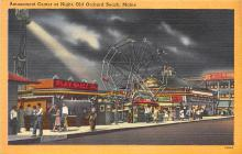amp019018 - Old Orchard Beach, Maine, ME, USA Postcard
