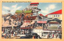 amp019024 - Old Orchard Beach, Maine, ME, USA Postcard