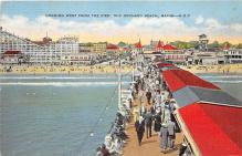 amp019026 - Old Orchard Beach, Maine, ME, USA Postcard