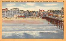 amp019030 - Old Orchard Beach, Maine, ME, USA Postcard