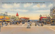 amp019032 - Old Orchard Beach, Maine, ME, USA Postcard