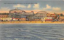 amp019033 - Old Orchard Beach, Maine, ME, USA Postcard