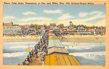 amp019034 - Old Orchard Beach, Maine, ME, USA Postcard