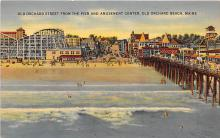 amp019047 - Old Orchard Beach, Maine, ME, USA Postcard