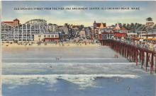 amp019049 - Old Orchard Beach, Maine, ME, USA Postcard