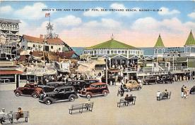 amp019056 - Old Orchard Beach, Maine, ME, USA Postcard
