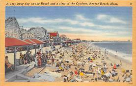 amp021027 - Revere Beach, Massachusetts, MA, USA Postcard