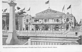 amp021059 - Revere Beach, Massachusetts, MA, USA Postcard