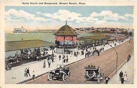 amp021070 - Revere Beach, Massachusetts, MA, USA Postcard