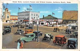 amp021092 - Salisbury Beach, Massachusetts, MA, USA Postcard