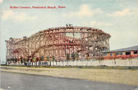 amp021109 - Nantasket Beach, Massachusetts, MA, USA Postcard