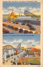 amp021115 - Nantasket Beach, Massachusetts, MA, USA Postcard