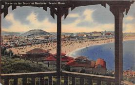 amp021119 - Nantasket Beach, Massachusetts, MA, USA Postcard
