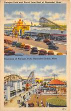 amp021120 - Nantasket Beach, Massachusetts, MA, USA Postcard