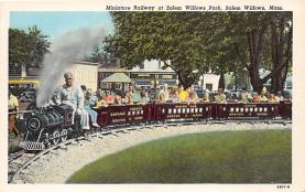 amp021121 - Salem Willows, Massachusetts, MA, USA Postcard