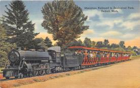 amp022008 - Detroit, Michigan, MI, USA Postcard