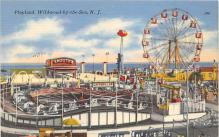 amp030007 - Wildwood by the Sea, New Jersey, NJ, USA Postcard