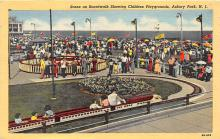 amp030021 - Asbury Park, New Jersey, NJ, USA Postcard