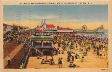 amp030025 - Wildwood by the Sea, New Jersey, NJ, USA Postcard