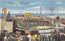 amp030027 - Wildwood by the Sea, New Jersey, NJ, USA Postcard