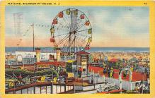amp030031 - Wildwood by the Sea, New Jersey, NJ, USA Postcard