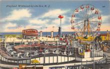 amp030034 - Wildwood by the Sea, New Jersey, NJ, USA Postcard