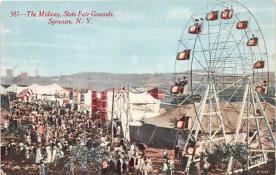 amp032034 - Syracuse, New York, NY, USA Postcard