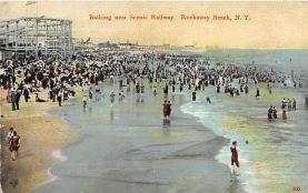 amp032049 - Rockaway Beach, Long Island, New York, NY, USA Postcard
