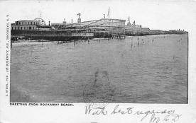 amp032053 - Rockaway Beach, Long Island, New York, NY, USA Postcard