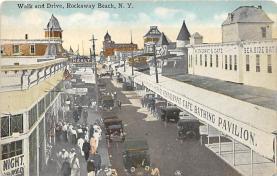 amp032054 - Rockaway Beach, Long Island, New York, NY, USA Postcard