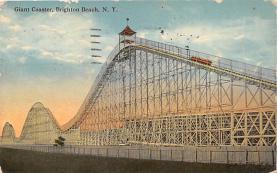 amp032083 - Brighton Beach, New York, NY, USA Postcard