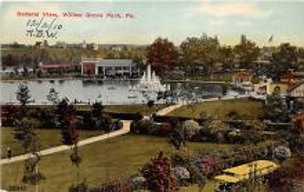 amp038004 - Willow Grove Park, Pennsylvania, PA, USA Postcard