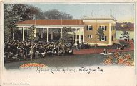 amp038037 - Willow Grove Park, Pennsylvania, PA, USA Postcard