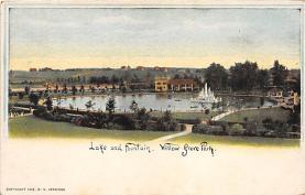 amp038039 - Willow Grove Park, Pennsylvania, PA, USA Postcard