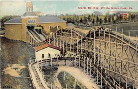 amp038044 - Willow Grove Park, Pennsylvania, PA, USA Postcard