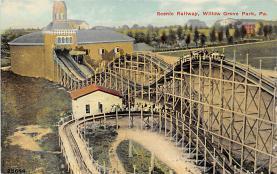 amp038047 - Willow Grove Park, Pennsylvania, PA, USA Postcard