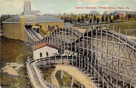amp038054 - Willow Grove Park, Pennsylvania, PA, USA Postcard