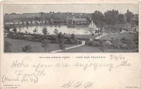 amp038066 - Willow Grove Park, Pennsylvania, PA, USA Postcard
