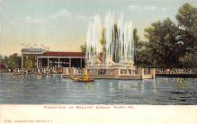 amp038070 - Willow Grove Park, Pennsylvania, PA, USA Postcard